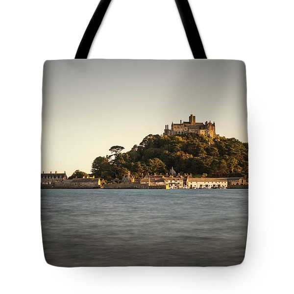 Golden Hour At St Michael's Mount Tote Bag