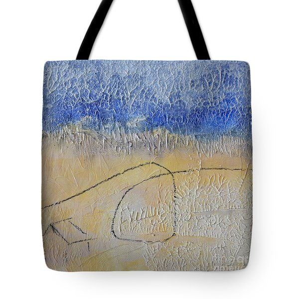 Tote Bag featuring the painting Golden Hour by Kim Nelson