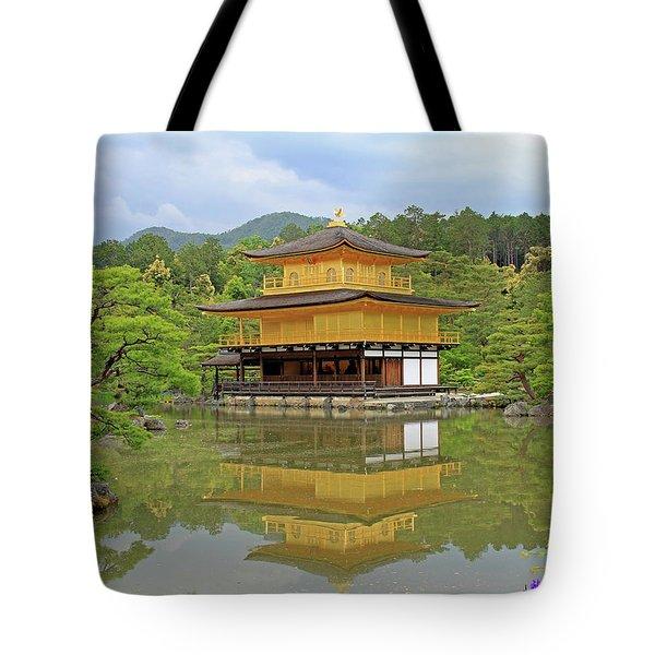 Golden Pavilion - Kyoto, Japan Tote Bag