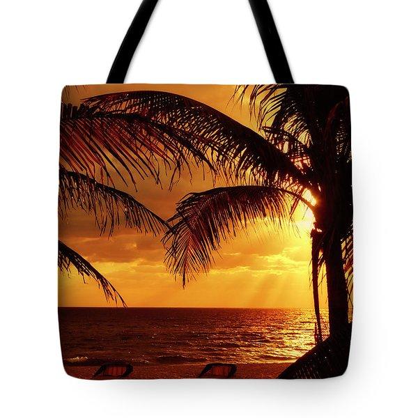 Golden Sunrise Tote Bag