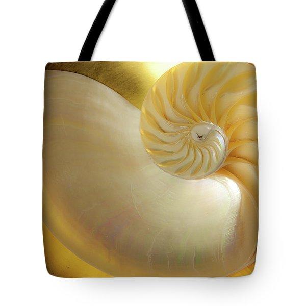 Golden_nautilus_0692 Tote Bag