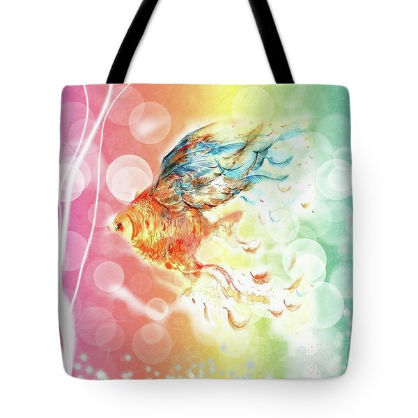 Goldfin Tote Bag