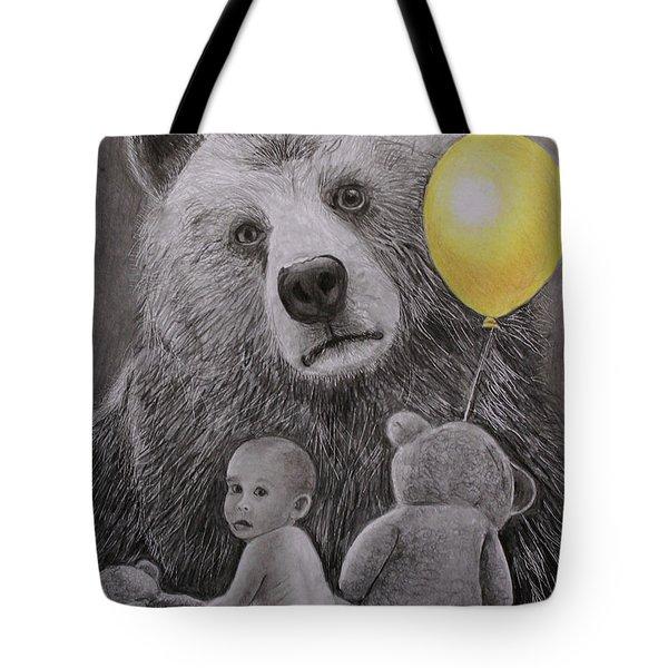 Goldilocks And The Three Bears Tote Bag