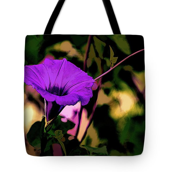 Good Morning Glory Tote Bag