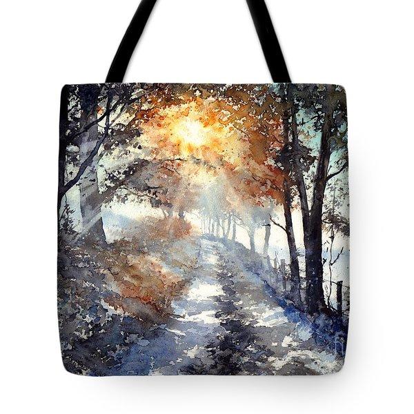 Good Morning Sun Tote Bag