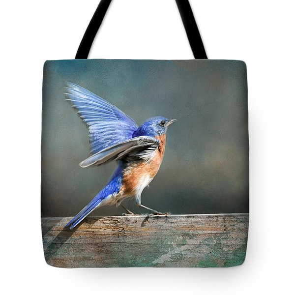 Tote Bag featuring the photograph Goodbye 2018 by Jai Johnson