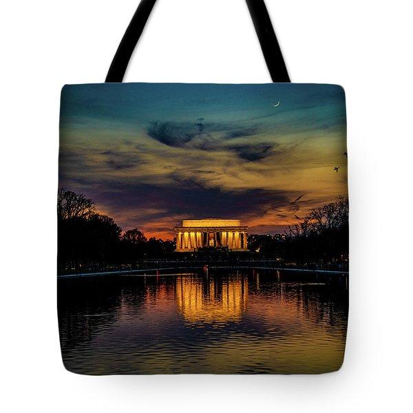 Goodnight Washington Tote Bag