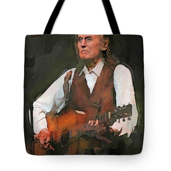 Gordon Lightfoot Tote Bag