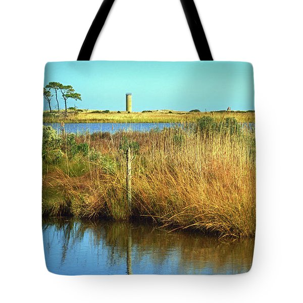 Tote Bag featuring the photograph Gordon's Pond State Park Panorama by Bill Swartwout Fine Art Photography