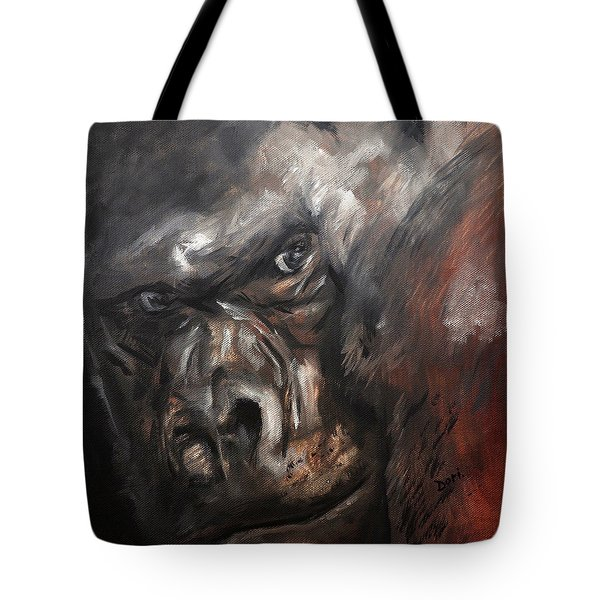 Gorilla Eyes Tote Bag