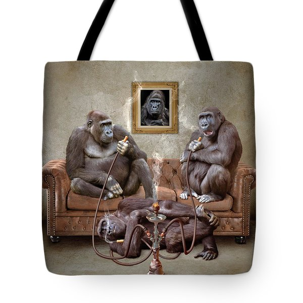 Gorilla Family Tote Bag