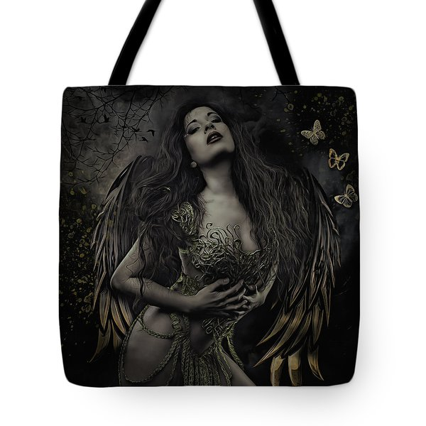 Gothic Angel, Aurelia Tote Bag
