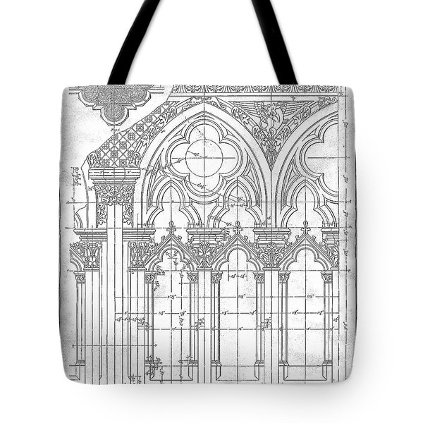 Gothic Arches Tote Bag