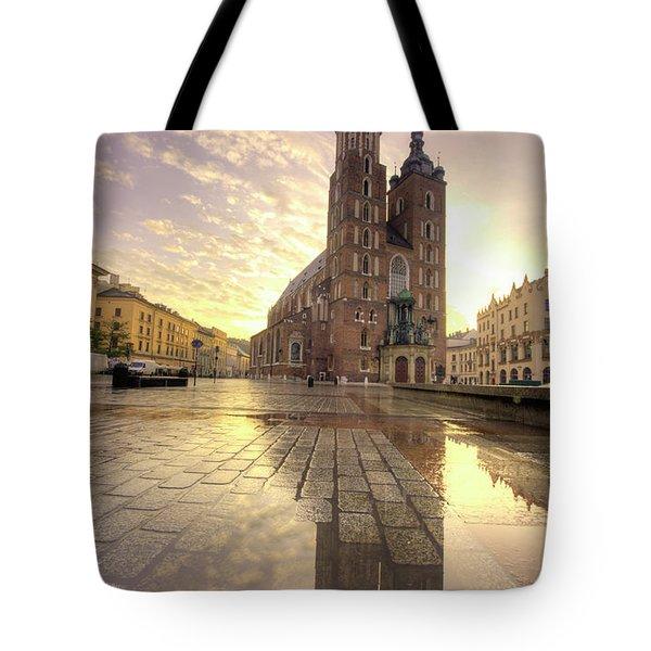 Gothic Church Tote Bag