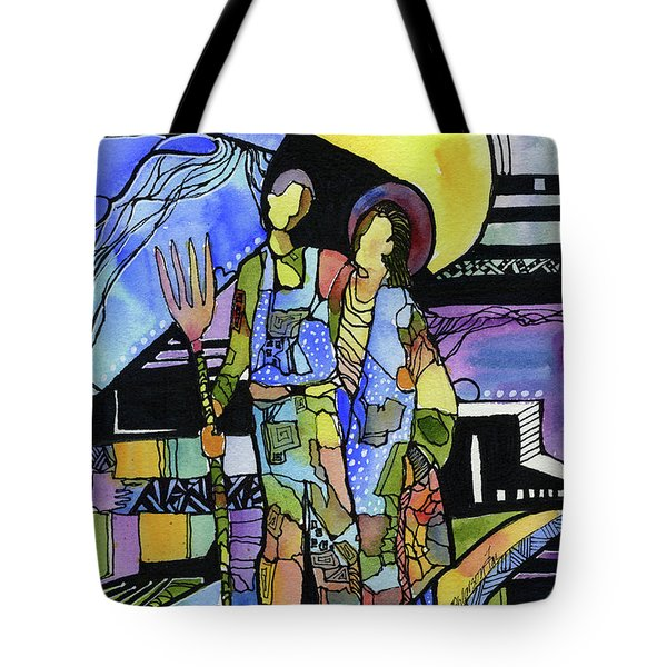 Gothic Friends Tote Bag
