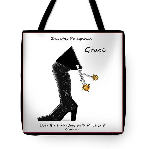 Grace Wall Art Tote Bag
