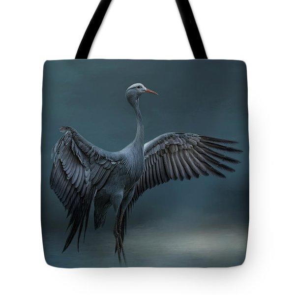 Graceful Dancer Tote Bag