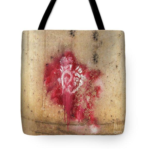 Grafitti Heart Tote Bag