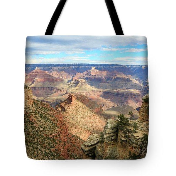 Grand Canyon View 3 Tote Bag