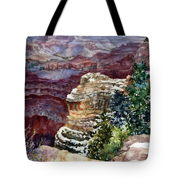Grand Canyon Winter Day Tote Bag
