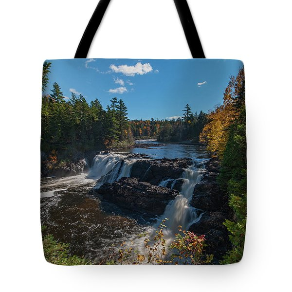 Tote Bag featuring the photograph Grand Falls by Rick Hartigan