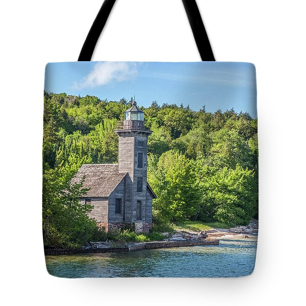 Grand Island East Channel Lighthouse, No. 2 Tote Bag