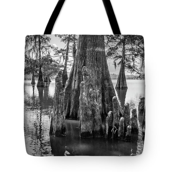 Grand Lake Cypress Tote Bag