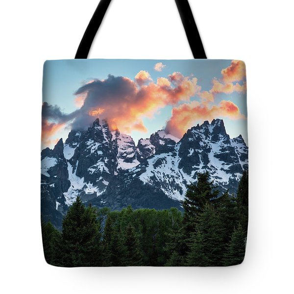 Tote Bag featuring the photograph Grand Sunset by Vincent Bonafede