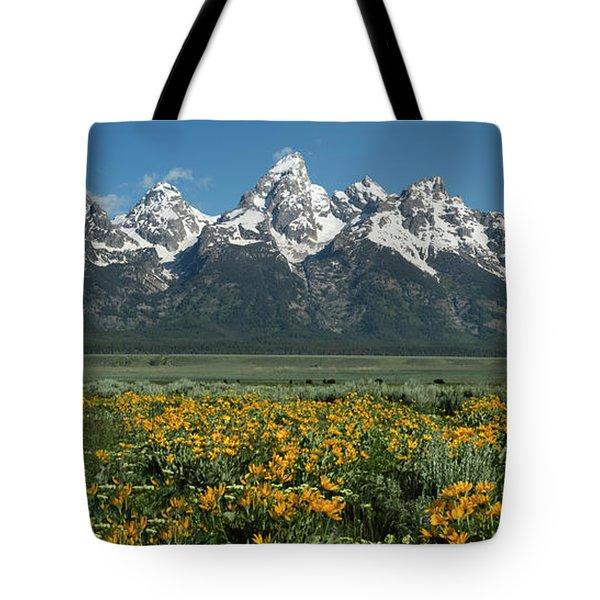 Grand Teton Summer Tote Bag