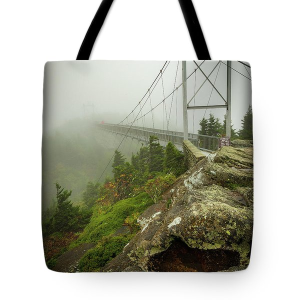 Grandfather Mountain Swinging Bridge Tote Bag