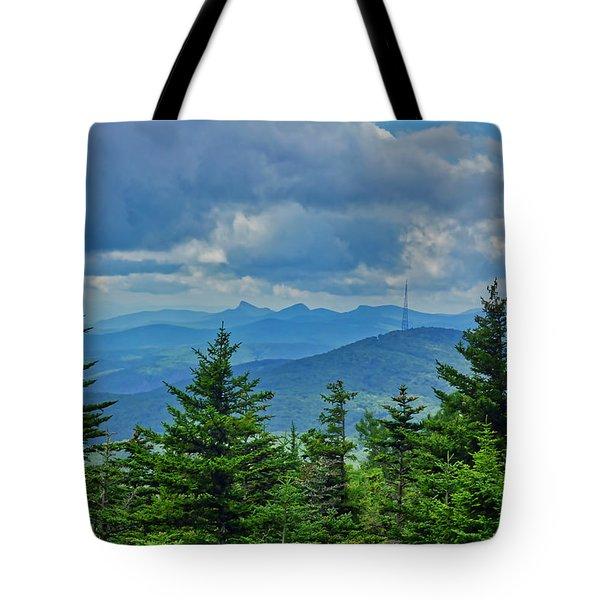 Grandmother Mountain Tote Bag