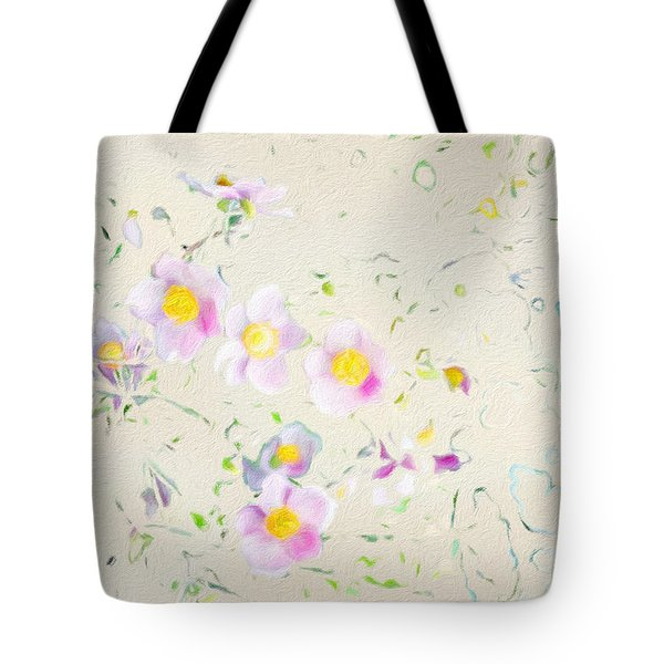 Grasmere Flowers Tote Bag