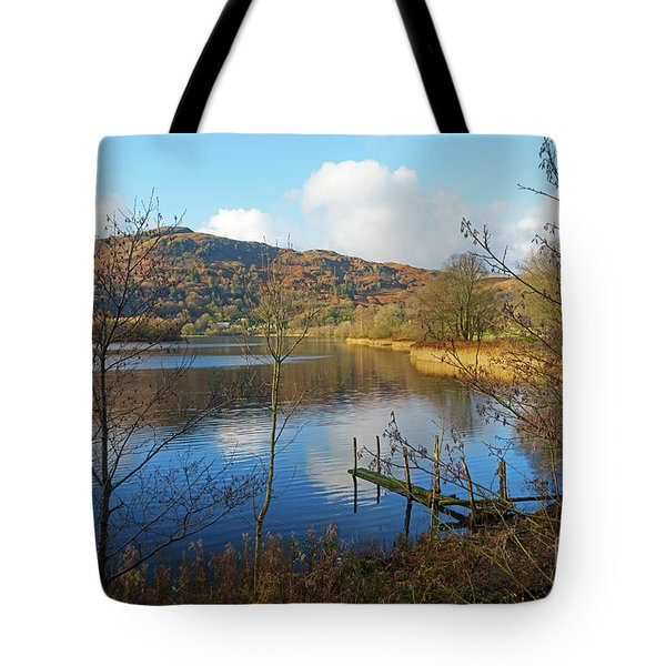 Grasmere In Late Autumn In Lake District National Park Cumbria Tote Bag