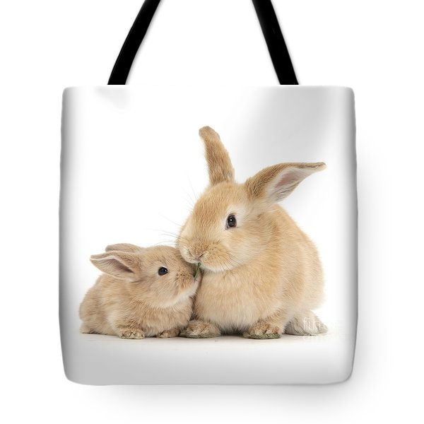Tote Bag featuring the photograph Grass Is For Sharing by Warren Photographic