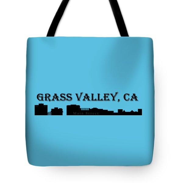 Grass Valley Skyline Tote Bag