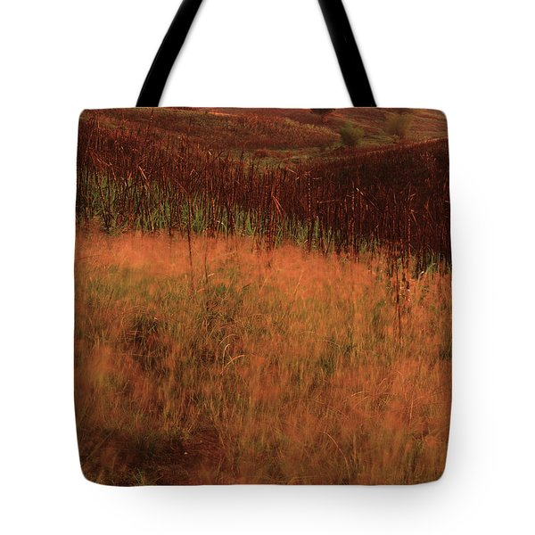 Grasses And Sugarcane, Trinidad Tote Bag