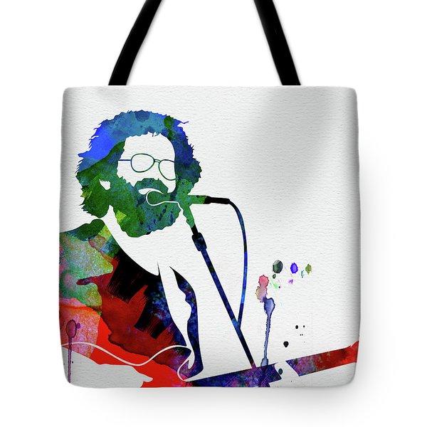 Grateful Dead Watercolor Tote Bag