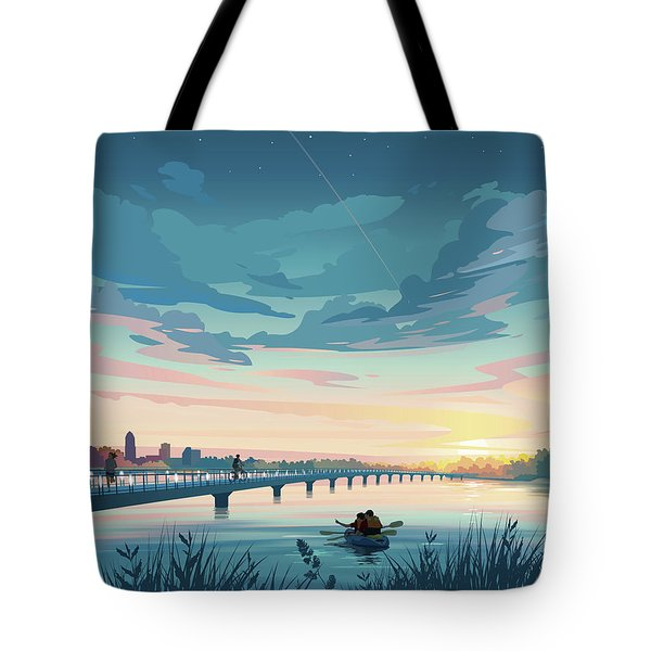 Grays Lake Tote Bag