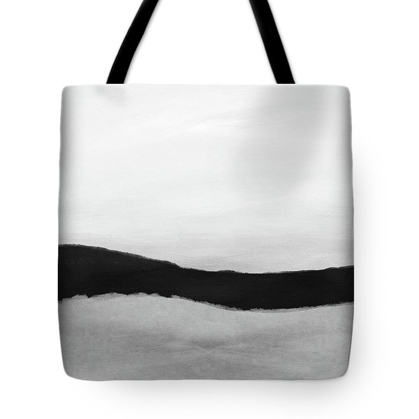 Grayscale 4- Abstract Art By Linda Woods Tote Bag