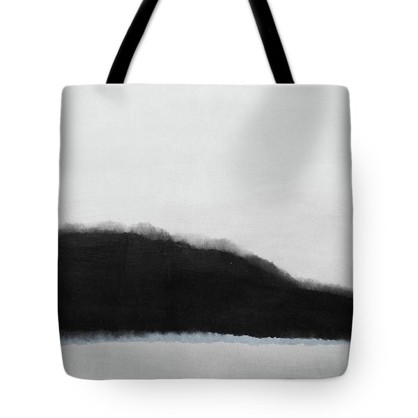 Grayscale 5- Abstract Art By Linda Woods Tote Bag