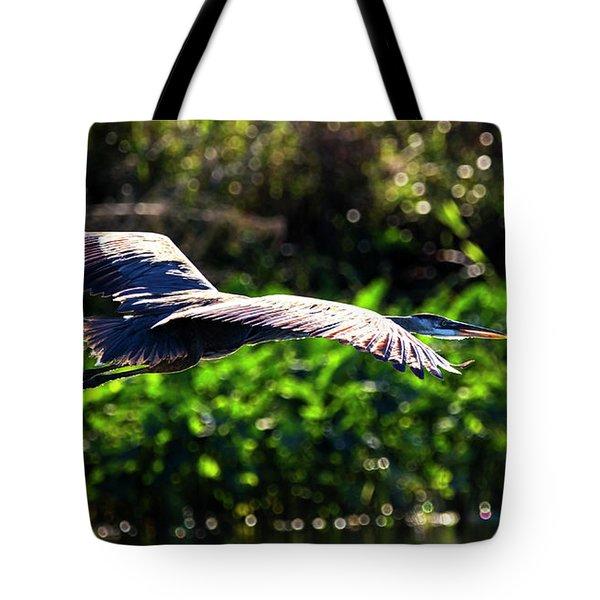 Great Blue Escape  Tote Bag