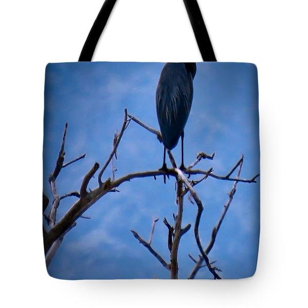 Great Blue Heron 3 Tote Bag