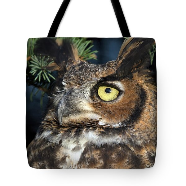 Great Horned Owl 10181801 Tote Bag