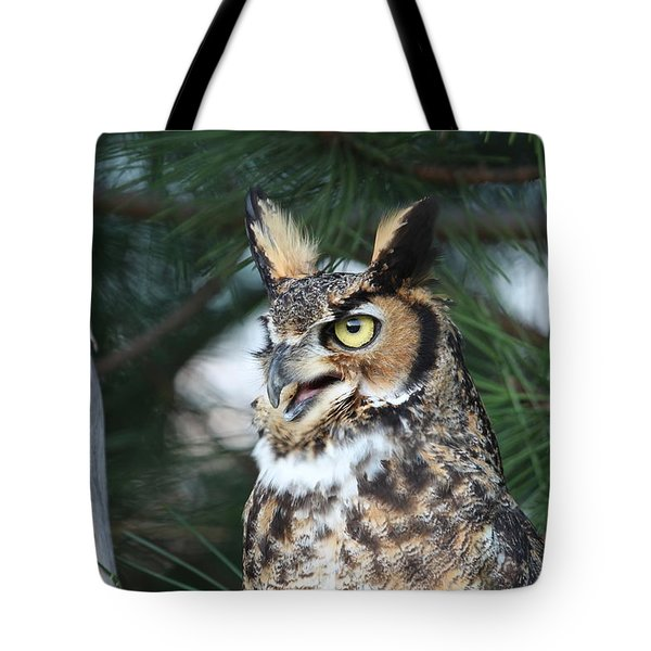 Great Horned Owl 5151801 Tote Bag