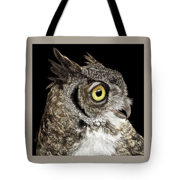 Great-horned Owl Tote Bag