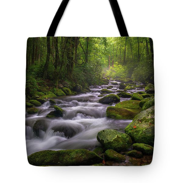 Great Smoky Mountains Gatlinburg Tennessee Tote Bag