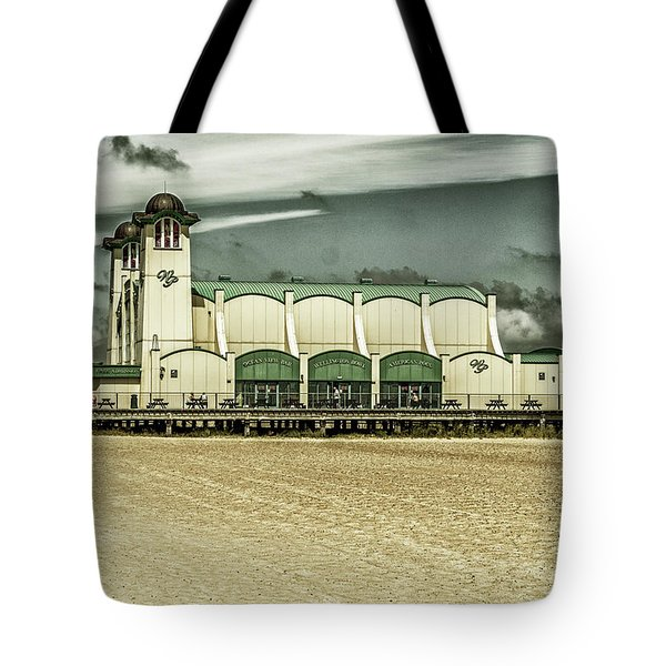 Tote Bag featuring the photograph Great Yarmouth Wellington Pier by Scott Lyons
