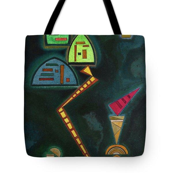 Green, 1929 Tote Bag