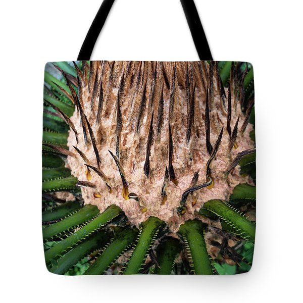 Tote Bag featuring the photograph Green Abstract Series No.10 by Juan Contreras