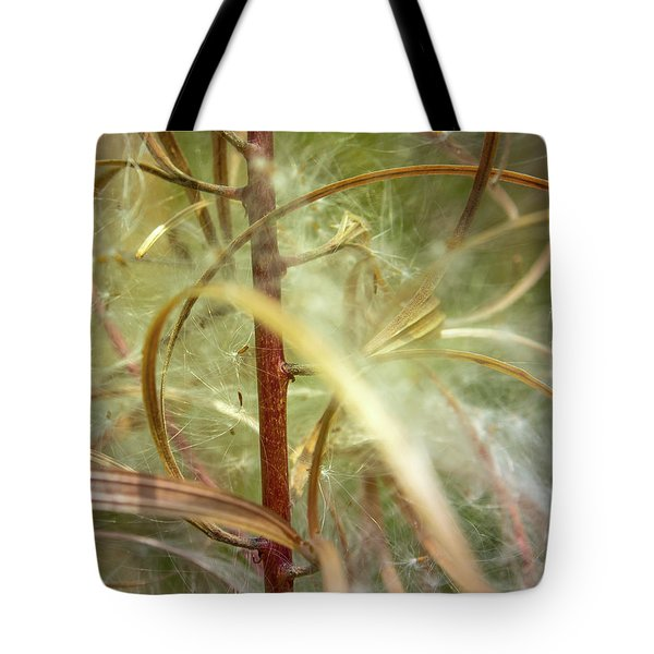 Tote Bag featuring the photograph Green Abstract Series No.11 by Juan Contreras